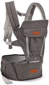 Beemoo Carry Comfort Adjust Babytrage, Grey