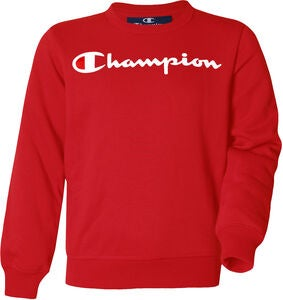 Champion Kids Crewneck Sweatshirt, True Red