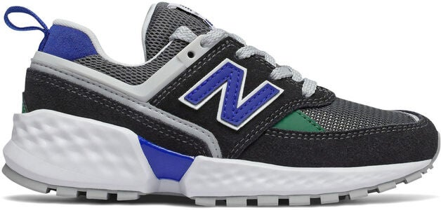 New Balance 547 Kids Sport Sneaker, Black/Blue