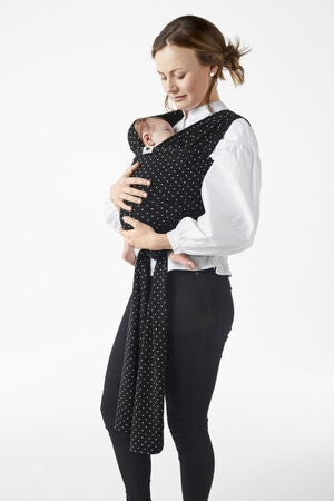 Coracor Tragetuch Small Dot, Black