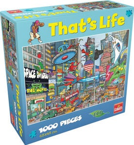 Goliath Games Puzzle That's Life ¬ New York 1000 Teile
