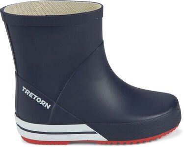Tretorn Basic Mid Gummistiefel, Navy/Red