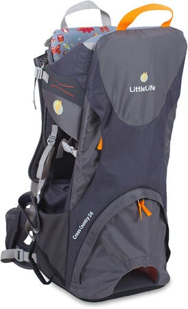 LittleLife Cross Country S4 Kindertrage, Grau