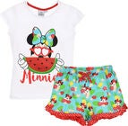 Disney Minnie Mouse Pyjamas, Weiß