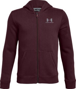 Under armour Fleece FZ Kapuzenpullover, Red