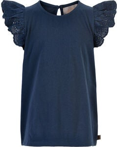 Creamie Lace T-Shirt, Total Eclipse