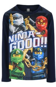 LEGO Collection Langarmshirt, Dark Navy