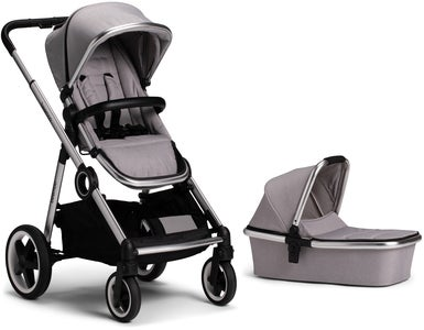 Beemoo Twin Travel+ 2019 Kombiwagen, Light Grey