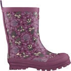 Viking Jolly Woodland Gummistiefel, Dark Pink/Multi
