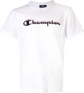 Champion Kids Crewneck T-Shirt, White