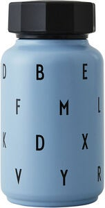 Design Letters Thermosflasche Kids, Blue