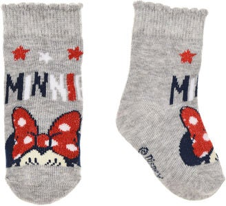 Disney Minnie Maus Socken, Grau