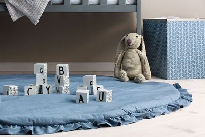 JLY Dream Bedside Crib, Grau