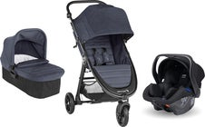 Baby Jogger City Mini GT 2 Buggy inkl. Babyschale, Adapter & Babywanne, Carbon