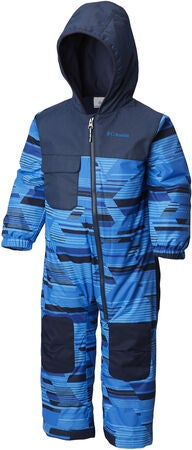 Columbia Hot-Tot Winteroverall, Super Blue Geo Print