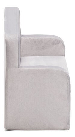 Alice & Fox Velvet Sofa, Grau