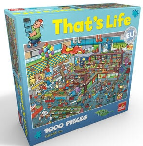 Goliath Games Puzzle That's Life – Supermarket 1000 Teile