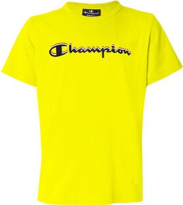 Champion Kids Crewneck T-Shirt, Blazing Yellow