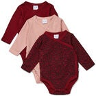 Luca & Lola Alexie Body 3er-Pack, Red Leo
