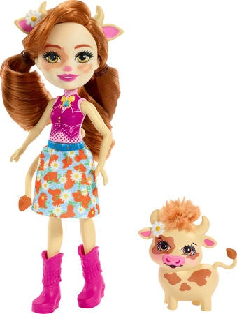 Enchantimals Figuren Cailey Cow & Curdle
