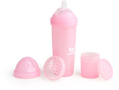 Herobility Baby Bottle Flasche 340 ml, Rosa