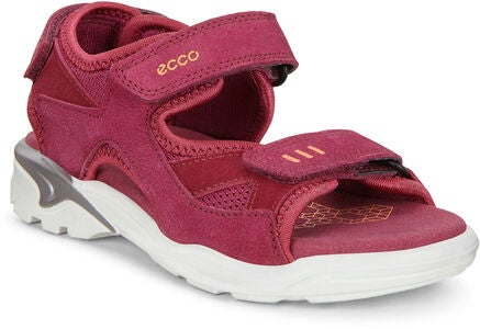 ECCO Biom Raft Sandalen, Red Plum