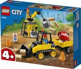 LEGO City Great Vehicles 60252 Bagger auf der Baustelle