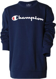 Champion Kids Crewneck Sweatshirt, Black Iris