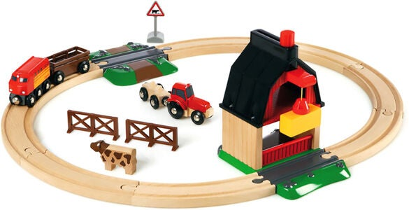 BRIO World 33719 Bauernhof Set