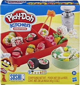 Play-Doh Knete Sushi