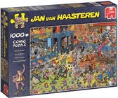 Jumbo Puzzle Jan van Haasteren The Roller Disco 1000
