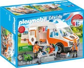 Playmobil 70049 Ambulans Med Blinkande Ljus