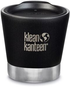 Klean Kanteen Insulated Tumbler Thermosbecher Mit Deckel 237ml, Shale Black