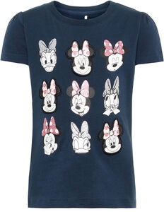 Name It Minnie Maus T-Shirt, Dark Sapphire