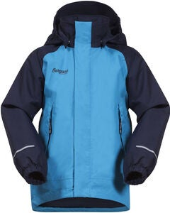 Bergans Storm Insulated Jacke, Polar Blue/Navy