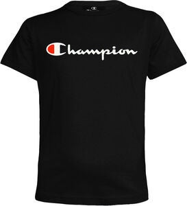 Champion Kids Crewneck T-Shirt, Black Beauty