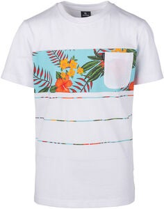 Rip Curl Squad Block T-Shirt, Optical White