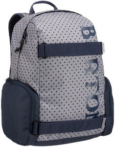 Burton Emphasis Youth Rucksack, Wild Dove Polka Dot