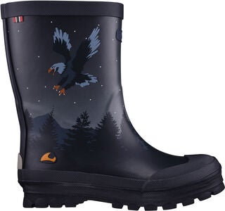 Viking Jolly Bat & Eagle Gummistiefel, Navy/Multi