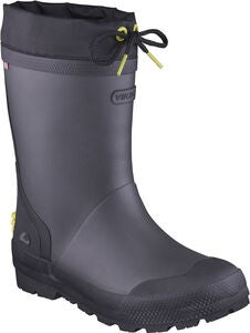 Viking Slagbjorn JR Warm Gefütterte Gummistiefel, Dark Grey/Multi