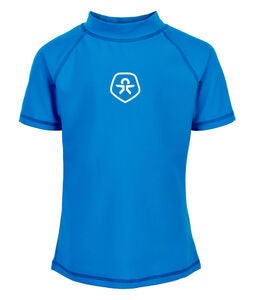 Color Kids UV-T-Shirt LSF 50+, Ultra Blue