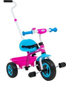 Milly Mally Dreirad Turbo, Rosa/Blau
