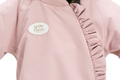 Petite Chérie Atelier Abella Overall, Dusty Pink