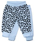 Tiny Treasure Willow Hose 2er-Pack, Baby Blue/Leo