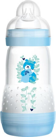 MAM Easy Start Anti-Colic Babyflasche 260 ml, Blau