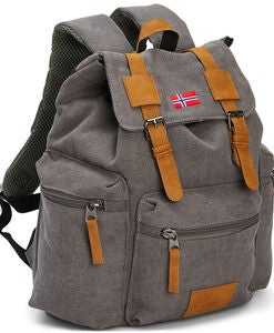 Pure Norway Retro Junior Rucksack, Grau