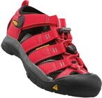 KEEN Newport H2 Little Kids Sandalen, Ribbon Red/Gargoyle