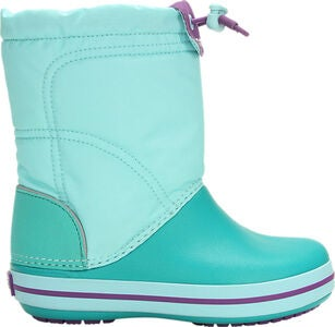 Crocs LodgePoint Winterstiefel, Blue/Teal