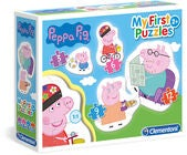 Peppa Wutz Kinderpuzzle 4-in-1