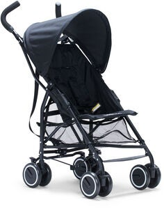 Beemoo Simple Travel Buggy, Black Canopy